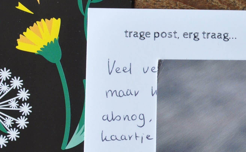 traage trage post