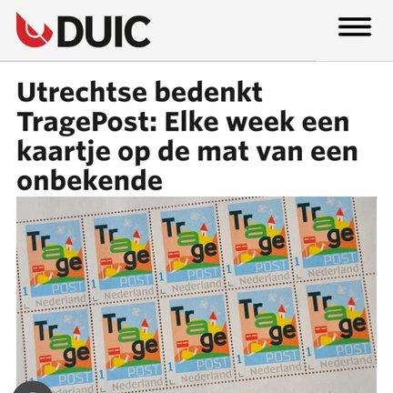 TragePost Utrecht in Duic