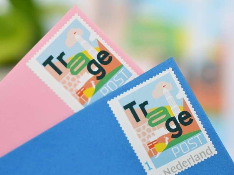 TragePostzegel Utrecht Leidsche Rijn