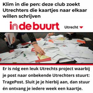 TragePost Indebuurt Utrecht