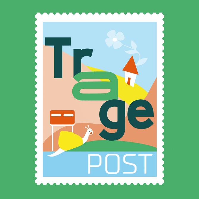 TragePost logo groepen