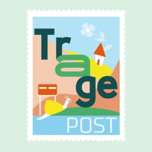 TragePost logo groepen aanmelden