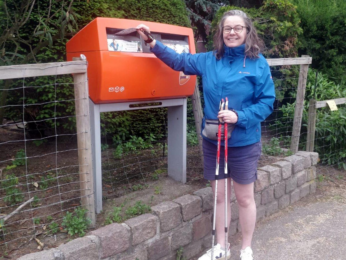 TragePost brievenbus vakantie Astrid